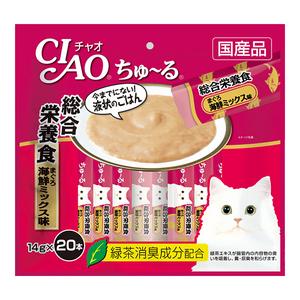 CIAO(チャオ) ちゅ~る 総合栄養食 まぐろ海鮮ミックス味 20本入り