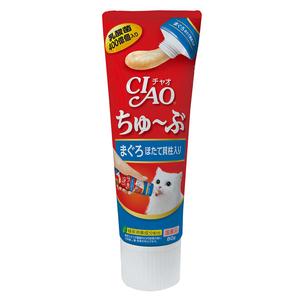 CIAO(チャオ) ちゅ~ぶ まぐろほたて貝柱入り 80g