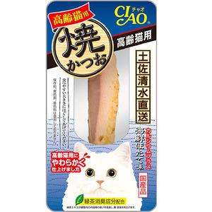 CIAO(チャオ) 焼かつお 高齢猫用 海鮮ほたて味
