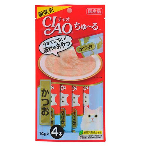 CIAO(チャオ) ちゅ~る かつお 4本入り
