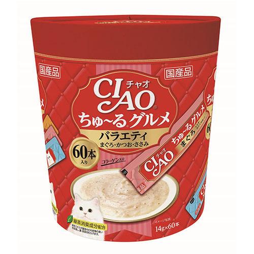 CIAO(チャオ) ちゅ~るグルメ バラエティ 60本入り