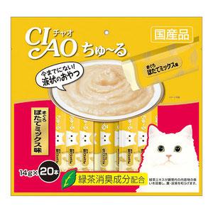 CIAO(チャオ) ちゅ~る まぐろほたてミックス味 20本入り