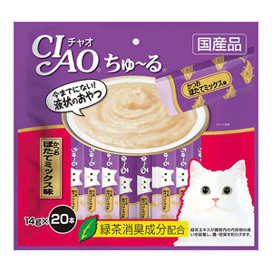 CIAO(チャオ) ちゅ~る かつおほたてミックス味 20本入り
