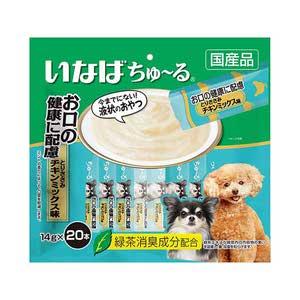 いなば 犬用 ちゅ~る お口の健康に配慮 とりささみチキンミックス味 20本入り