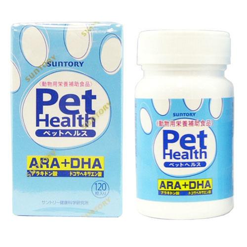 ペットヘルス ARA+DHA 犬用 120粒入
