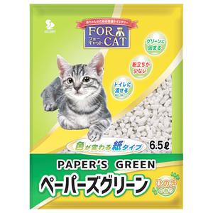 フォーキャット ペーパーズグリーン ひのきの香り 6.5L
