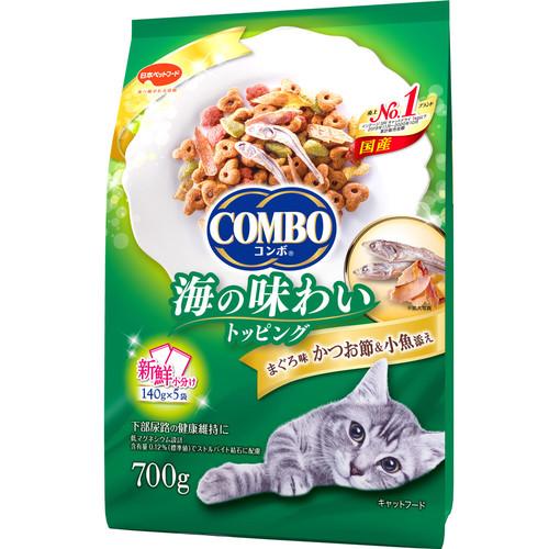コンボ キャット まぐろ味・かつおぶし・小魚添え 700g