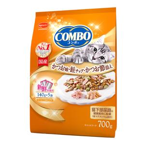 コンボ キャット かつお味・鮭チップ・かつおぶし添え 700g