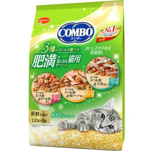 コンボ キャット 肥満が気になる猫用アソート 600g