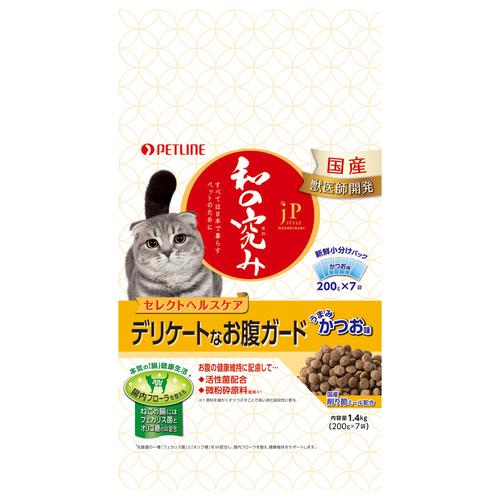 ジェーピースタイル 和の究み 猫用セレクトヘルスケア デリケートなお腹ガード 1.4kg