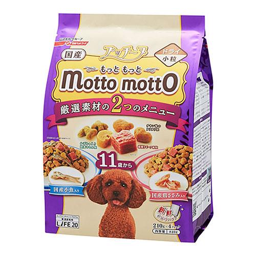 プッチーヌ mottomotto(もっともっと) ドライ 11歳から 840g【在庫限り】