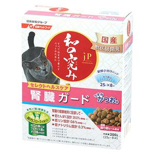 ジェーピースタイル 和の究み 猫用セレクトヘルスケア 腎臓ガード かつお味 200g