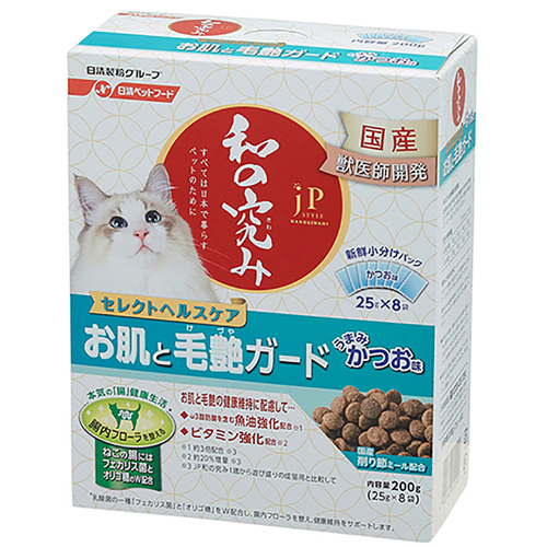 ジェーピースタイル 和の究み 猫用セレクトヘルスケア お肌と毛艶ガード 200g
