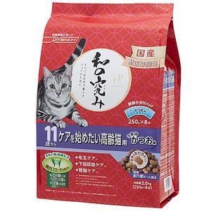 ジェーピースタイル 和の究み 11歳から ケアを始めたい高齢猫用 2kg