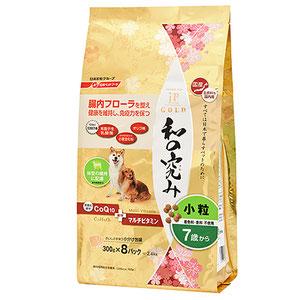 ジェーピースタイル ゴールド 和の究み 小粒 7歳以上のシニア犬用 2.4kg