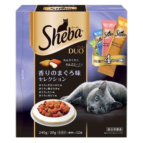シーバ デュオ 香りのまぐろ味セレクション 240g