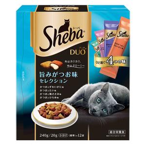 シーバ デュオ 旨味がつお味セレクション 240g