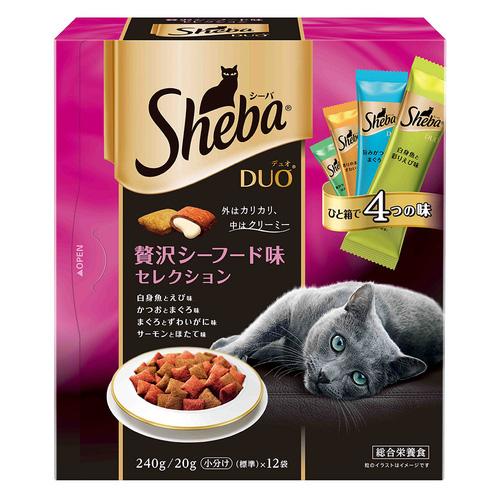 シーバ デュオ 贅沢シーフード味セレクション 240g