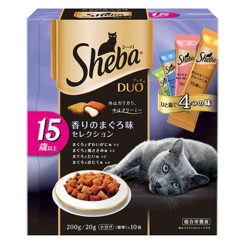 シーバ デュオ 15歳以上 香りのまぐろ味セレクション 200g