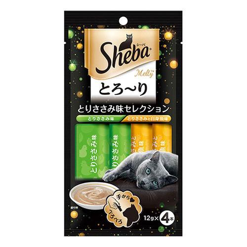 シーバ とろ~り メルティ とりささみ味セレクション 12g×4P