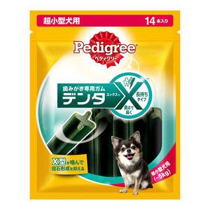 ぺディグリー デンタエックス 超小型犬用 レギュラー 14本入り