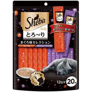 シーバ とろ~り メルティ まぐろ味セレクション 12g×20P