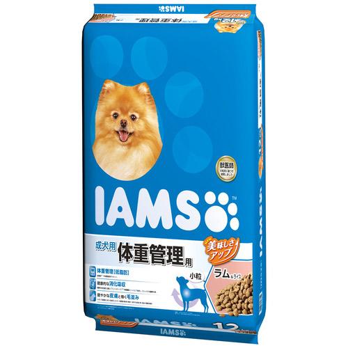 アイムス 成犬用 体重管理用 ラム&ライス 小粒 12kg