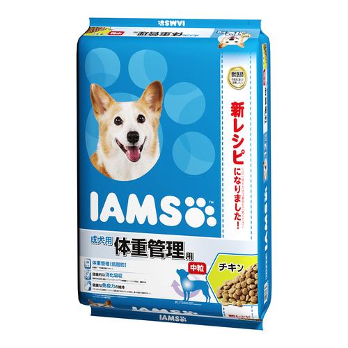 アイムス 成犬用 体重管理用 チキン 中粒 12kg