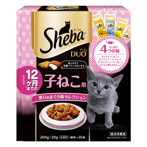 シーバ デュオ 子ねこ用 香りのまぐろ味セレクション 200g