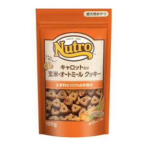 ニュートロ キャロット入り 玄米・オートミール クッキー 100g