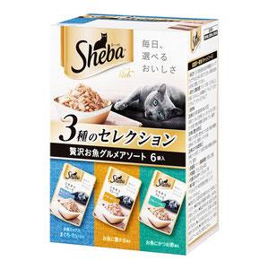 シーバ リッチ ごちそうフレーク 贅沢お魚グルメアソート 35g×6袋【まとめ買い】