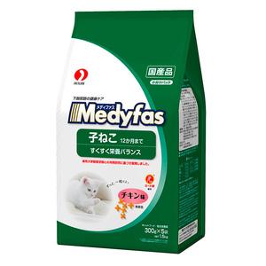 メディファス 子ねこ12ヶ月まで チキン味 1.5kg