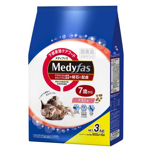 メディファス 7歳から チキン味 3kg
