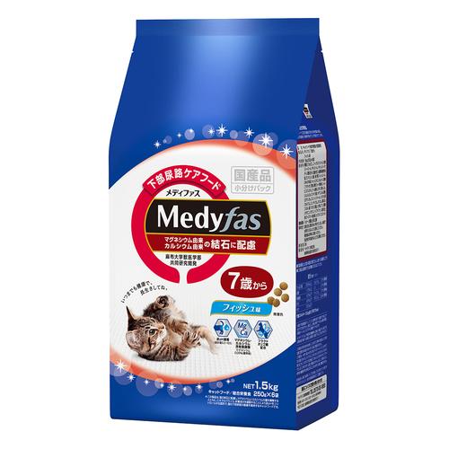 メディファス 7歳から フィッシュ味 1.5kg