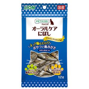 PETKISS(ペットキッス) FOR CAT オーラルケア にぼし 12g