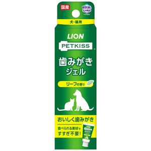 PETKISS(ペットキッス) 歯みがきジェル リーフの香り 40g