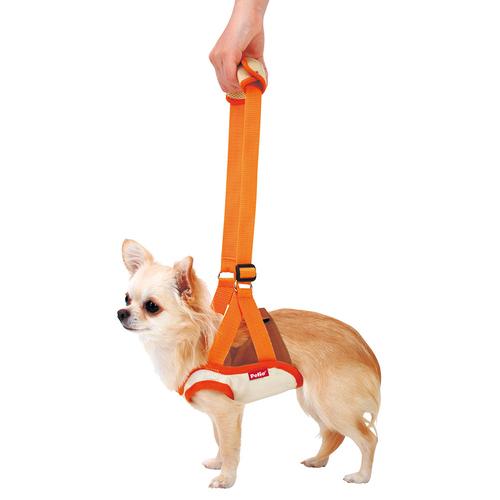 ペティオ zuttone(ずっとね) 老犬介護用 歩行補助ハーネス 前足用 S