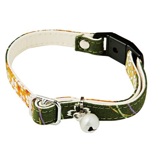 アドメイト にゃんごころ猫首輪 さくら手毬 緑