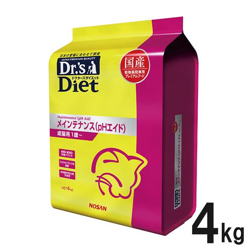 ドクターズダイエット 猫用 メインテナンス(pHエイド) 4kg