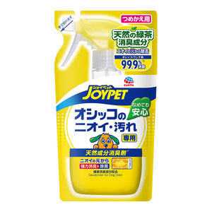 JOYPET(ジョイペット) 天然成分消臭剤 オシッコのニオイ・汚れ専用 つめかえ用 240mL