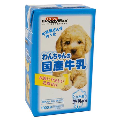 ドギーマン わんちゃんの国産牛乳 1000mL