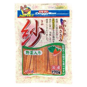 ドギーマン 紗 野菜入り 170g