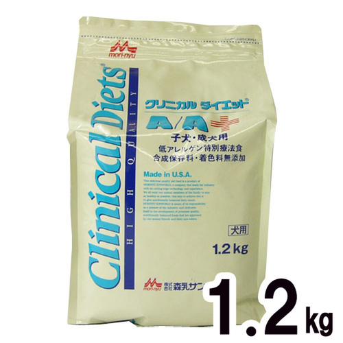 森乳サンワールド 犬用 クリニカルダイエットA/A ドライ 1.2kg【在庫限り】