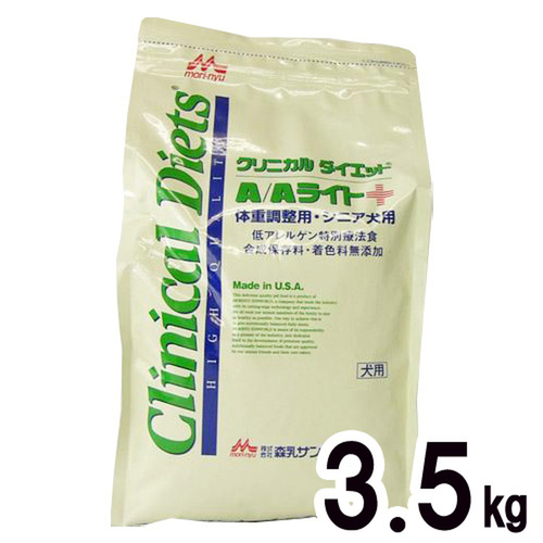 森乳サンワールド 犬用 クリニカルダイエットA/Aライト ドライ 3.5kg