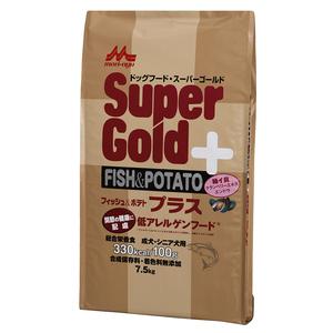 森乳 スーパーゴールド フィッシュ&ポテトプラス 関節の健康に配慮 7.5kg