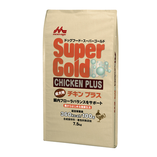 森乳 スーパーゴールド チキンプラス 成犬用 7.5kg
