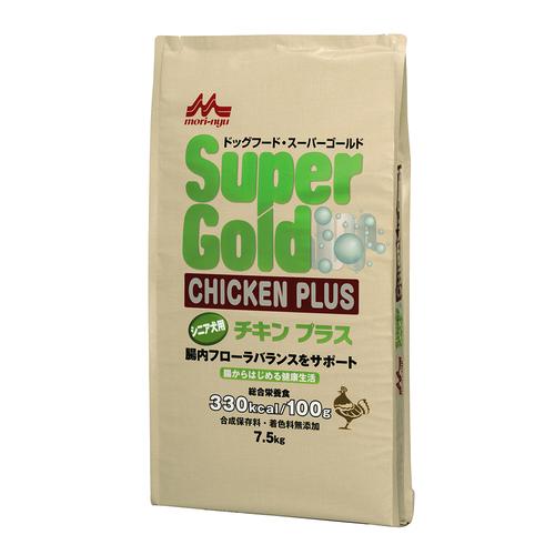 森乳 スーパーゴールド チキンプラス シニア用 7.5kg