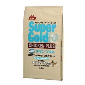 森乳 スーパーゴールド チキンプラス 体重調整用 7.5kg