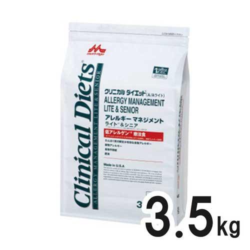 森乳サンワールド クリニカルダイエット アレルギーマネジメント ライト&シニア 3.5kg