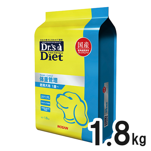 ドクターズダイエット 犬用 体重管理 1.8kg
